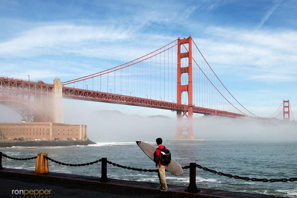 Light Golden Gate Surfer