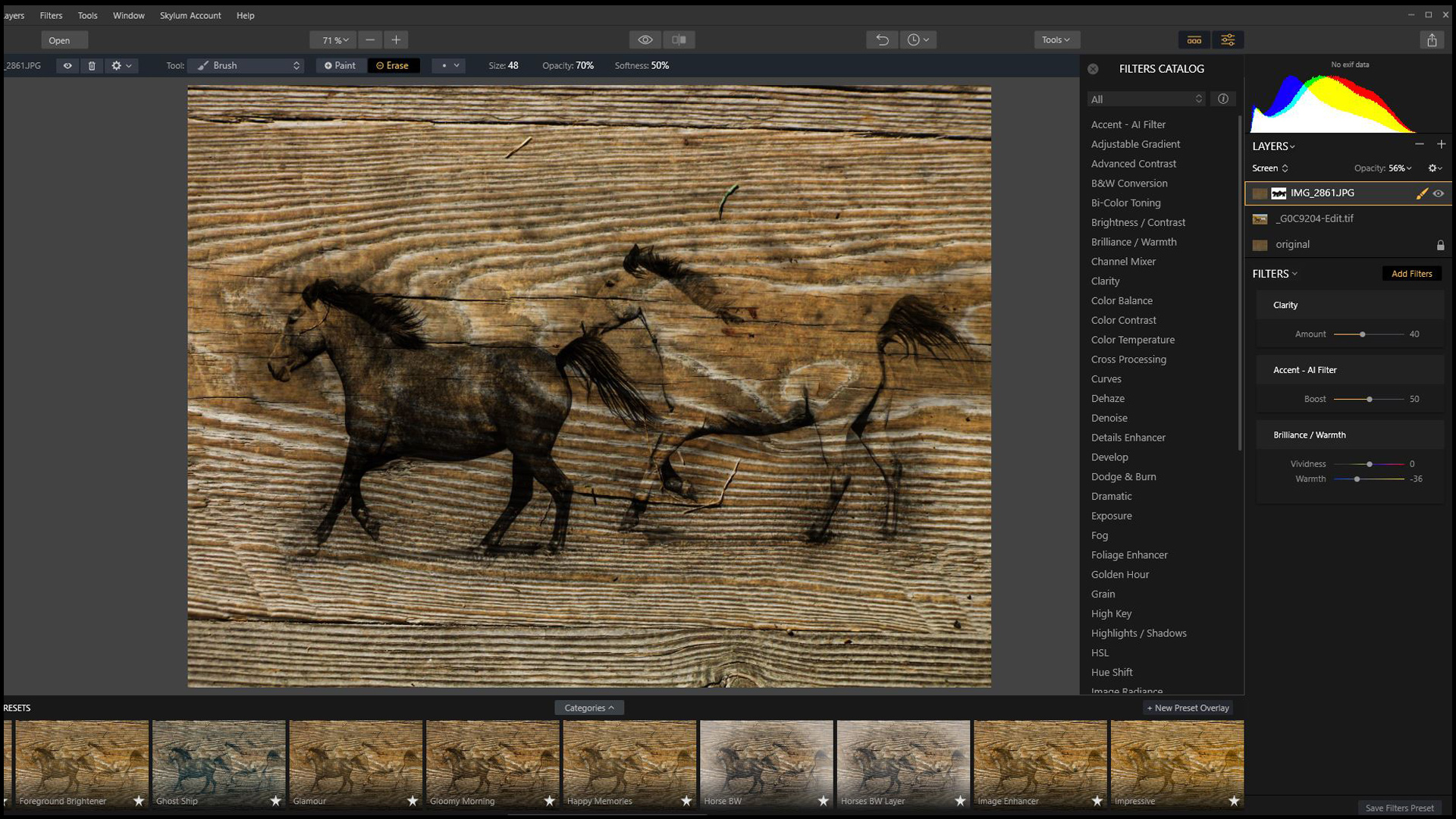 Part 2 How to Transform Your Photos With Texture Layers in Luminar 2018