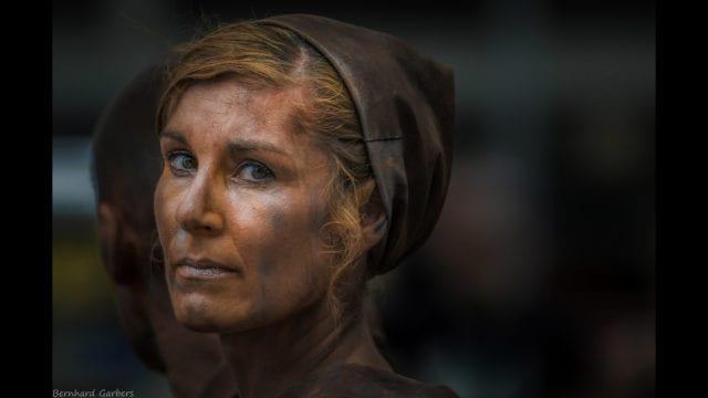 """Photofocus photographer of the day is Bernhard Garbers with his portrait """"Esther van Leeuwen""""."""