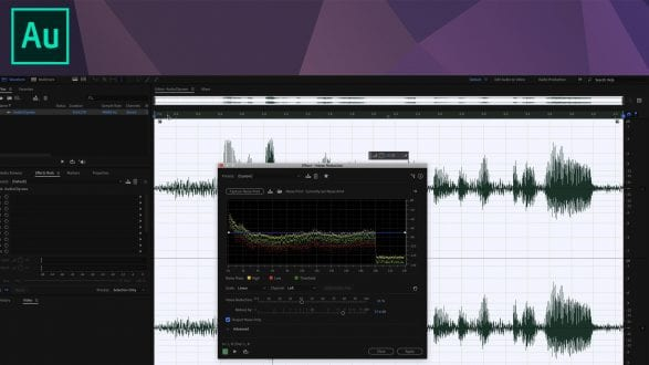 Noise Reduction - Adobe Audition