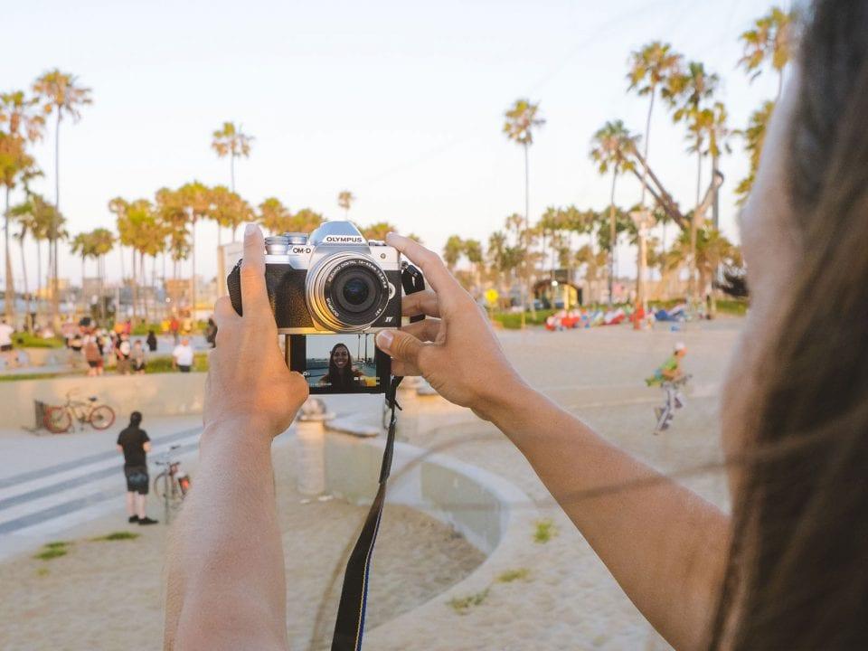 fun cameras - Olympus E-M10 IV