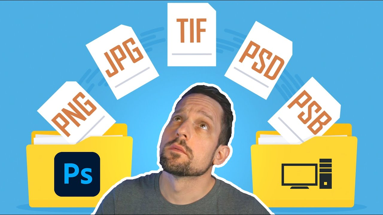 TIFF vs PSD? Which is better & WHY! - youtube