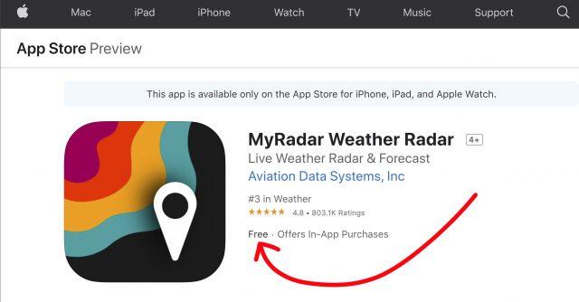 MyRadar is free.jpg