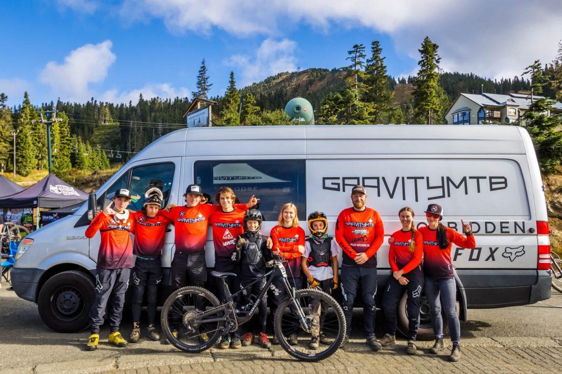 bike team photo