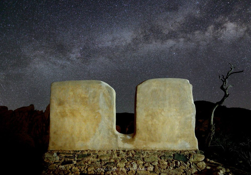"""Could computational photography take a single exposure image such as this Milky Way, and apply keystoning corrections to straighten the building, add noise reduction without ruining the pinpoints of the stars, color correct, apply white balance, and more automatically and instantaneously? Would it allow you to """"stack"""" photos and add in a low-ISO foreground to provide an absurdly clean image? And could it do this all while leveraging full-frame sensors and high-quality lens?"""