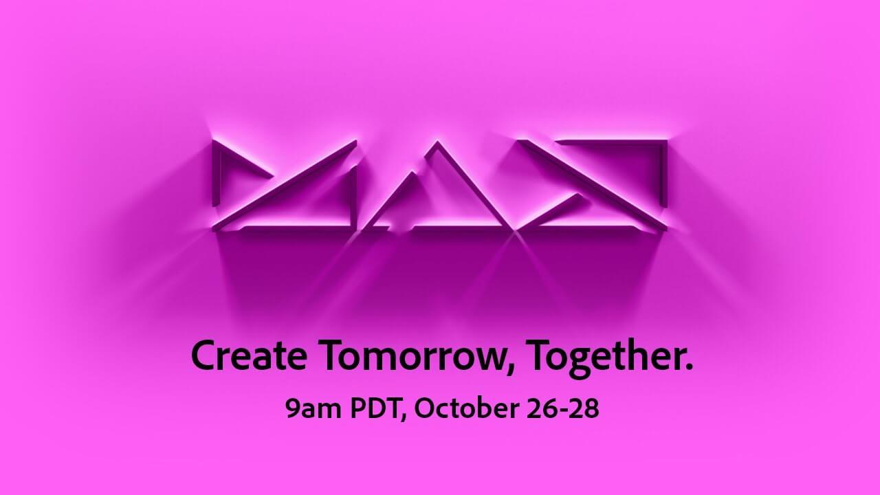 Adobe MAX Keynote: Create Tomorrow Together - youtube