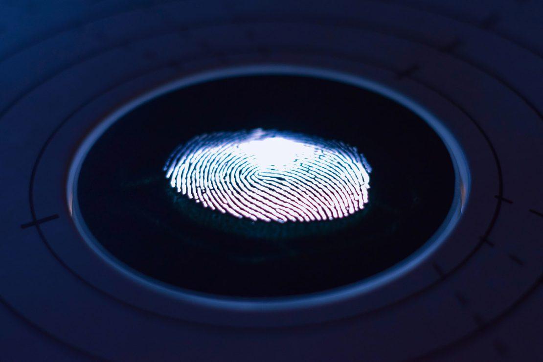 Fingerprint sensor photo by George Prentzas on Unsplash.